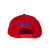Lunker Stars Patch Snapback Hat - Red