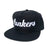 Lunkers Snapback Hat - Black/White