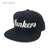 Lunkers Snapback Hat - Black/Silver [EXCLUSIVE]