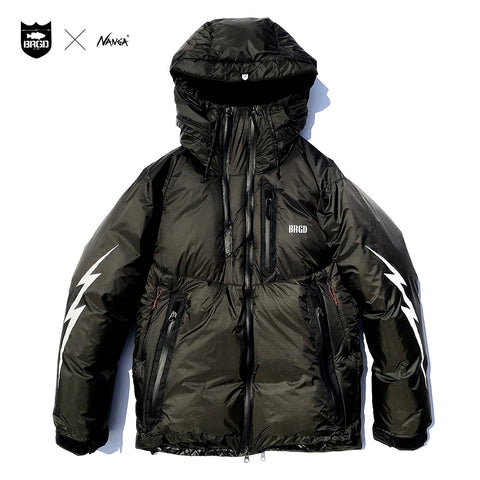 NANGA x Bass Brigade Aurora Light Down Jacket - Black