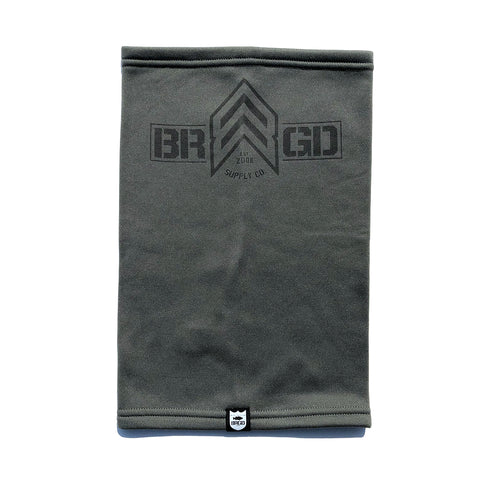 BRGD Badge Neck Gaiter LE - Olive