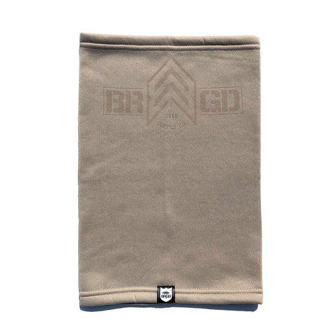 BRGD Badge Neck Gaiter LE - Sand