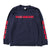 BRGD Riders V2 L/S Tee - Navy/Red