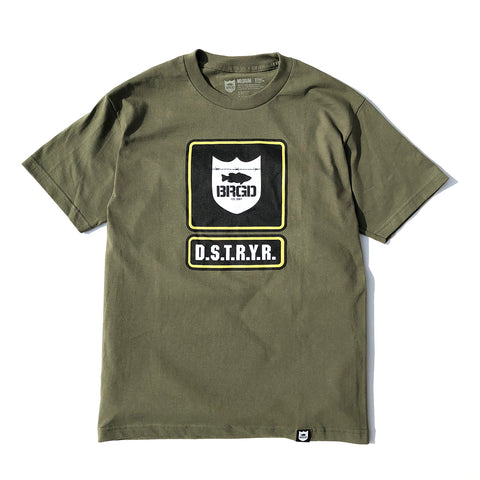 Bootcamp Tee - Military Green