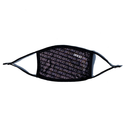BRGD Pattern Mask - Black