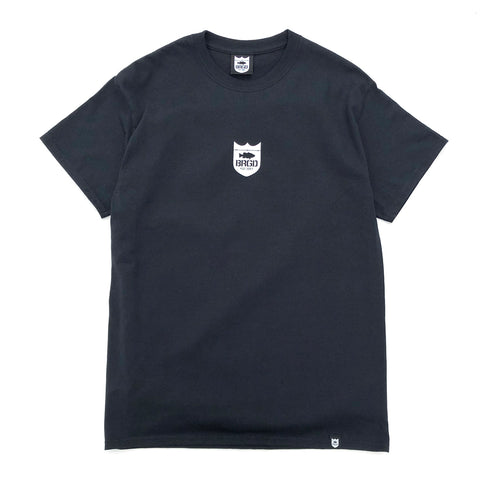 Small Shield Logo Tee - Black