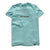 Bass Brigade Premium Soft Tee - Celadon/Brown