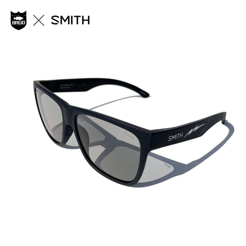 SMITH × BASS BRIGADE Lowdown XL 2 - MatteBlack/FeatherGrey