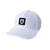 Shield Patch Performance Hat - White