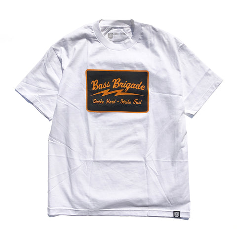 Bass Brigade SHSF SS Tee - White/Orange