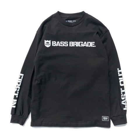 Shield Wordmark LS Tee - Black