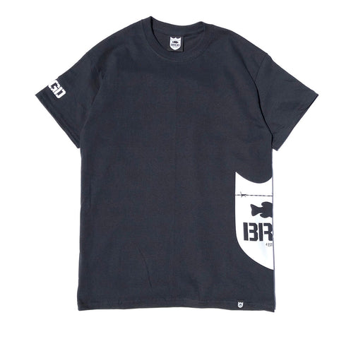 Side Shield Logo Tee - Black