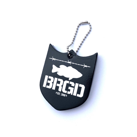 Shield Logo Key Floater - Black