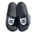 Shield Logo Sandal - Black