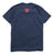 Shield Logo Tee - Navy/Red