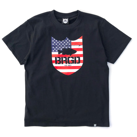 Stars and Stripes Tee - Black/Red