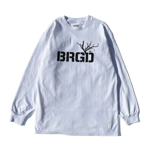 Structure BRGD L/S Tee - White