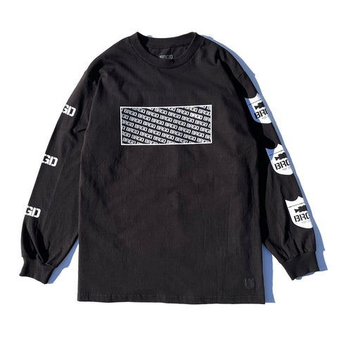 Standout L/S Tee - Black