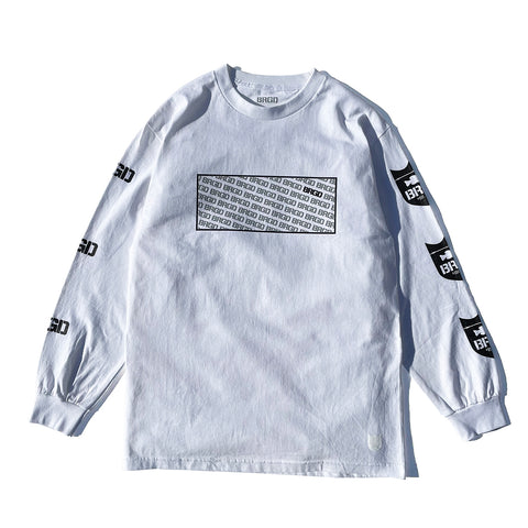 Standout L/S Tee - White