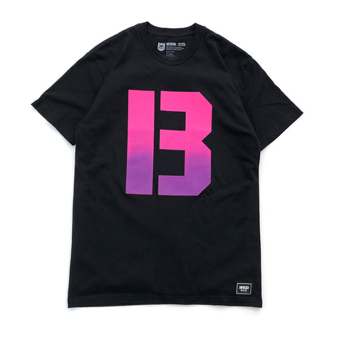 The B Gradient Tee - Black