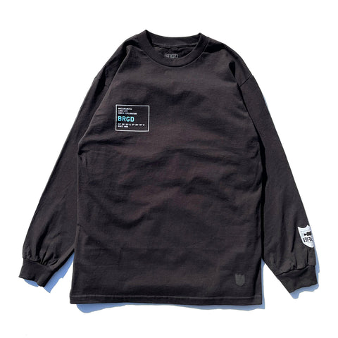 Urban Explorer L/S Tee - Black/Aqua