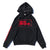 Wired Bolt Hoodie - Black/Red