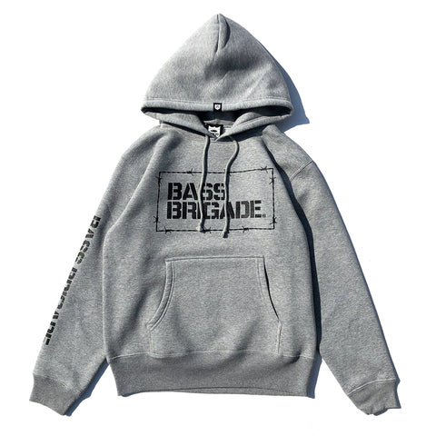 Wired Bolt Hoodie - Grey/Black