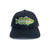 Wavy Camo Bass Trucker Hat - Black Retro Trucker
