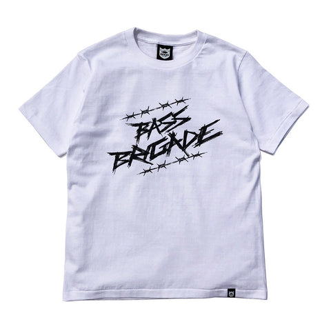 Wired BRGD Tee - White/Black