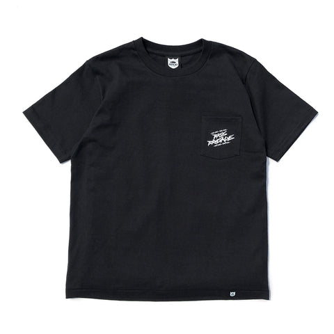 Wired BRGD Pocket Tee - Black/White