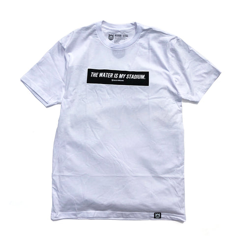 Box Twims Tee Black - White