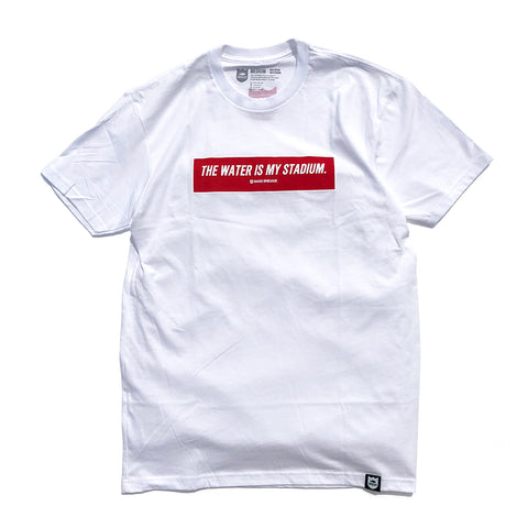 Box Twims Tee Red - White