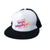 Wired Foam Trucker Hat - White/Black