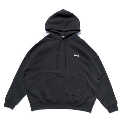 Word Mark Hoodie #1 - Black