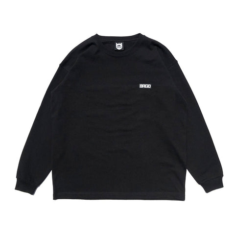BB Word Mark L/S Tee #2 - Black