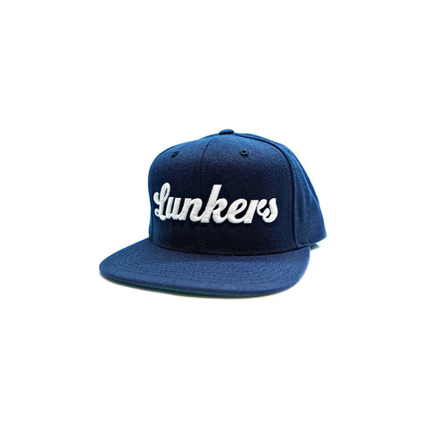 Bass Brigade Lunkers Snapback Hat - Navy