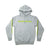 Shield and Wordmark Pullover Hoodie V2 - Heather Grey