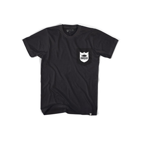 My Life Pocket Tee - Black
