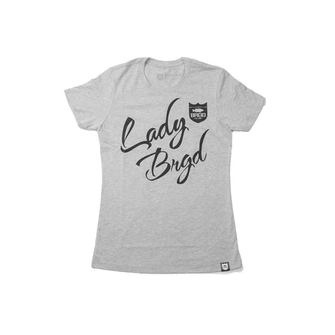 Lady Brigade Tee - Heather Grey