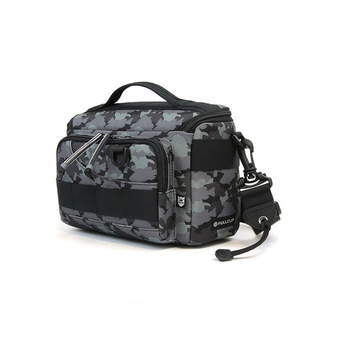 Bass Brigade x FULLCLIP 2BLOCK REVISION Fishing Bag - Carbon Camo