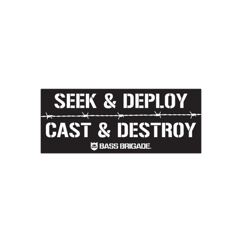 SDCD01 Sticker - Black/White