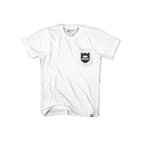 My Life Pocket Tee - White