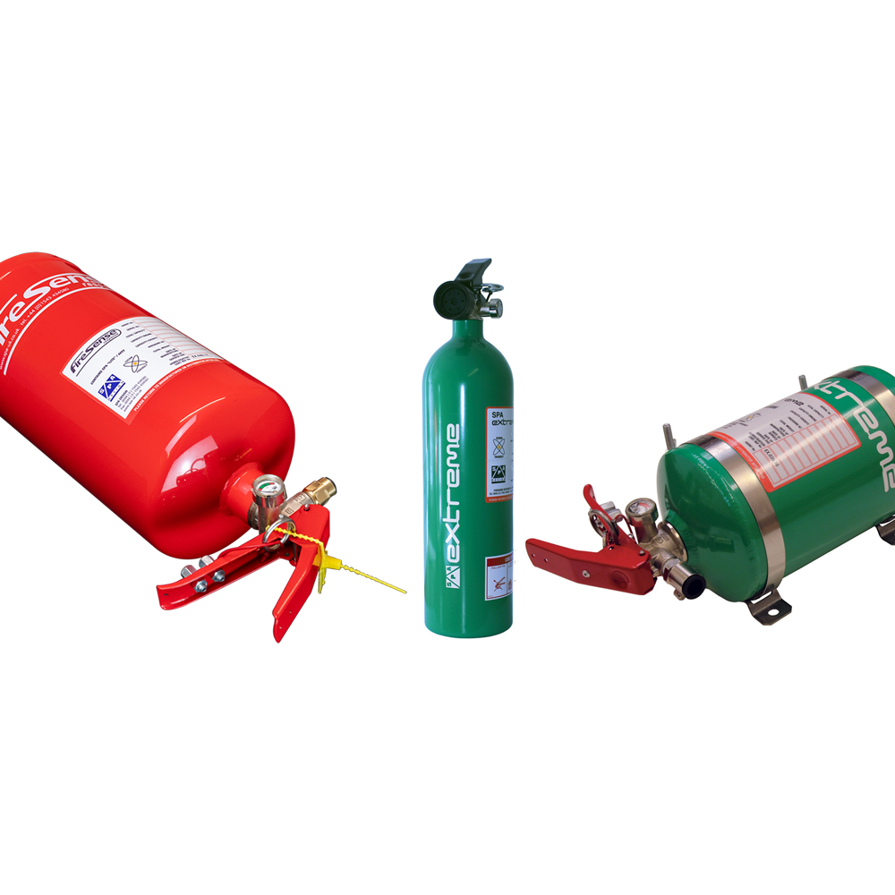 SPA Technique Fire Extinguisher Range