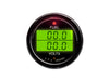 SPA Technique FUEL PRESSURE/VOLTS Digital Gauge (Black)