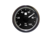SPA Technique Oil Pressure Classic Gauge 0 to 100 PSI (Black Dial & White Backlight)