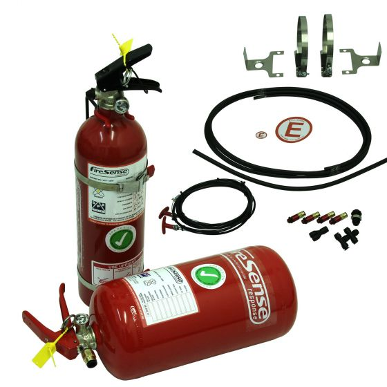 SPA FireSense Rally with 4.0 Litre Aluminium Mechanical + 2.4 Litre Handheld Extinguishers