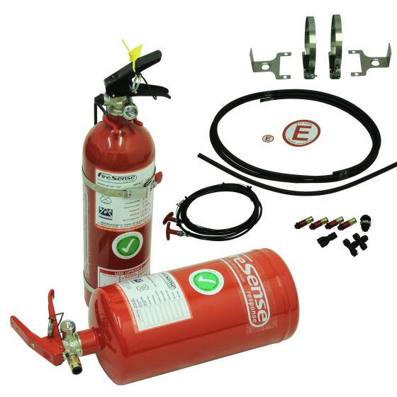 SPA FireSense Rally with 4.0 Litre Steel Mechanical + 2.4 Litre Handheld Extinguishers