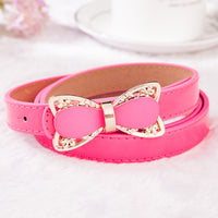Pink Bow Strap Belt Female