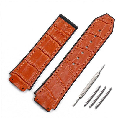 Leather Strap Men's Watch Accessories