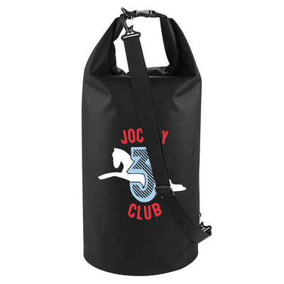 Jockey Club 3 White Logo Waterproof Dry Tube Bag-Jockey Club Salinas Ibiza Store